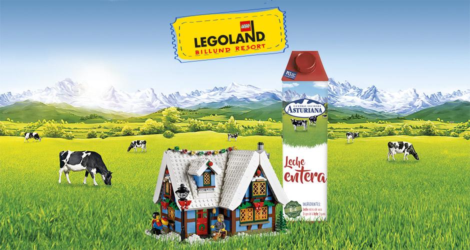 Colaboración entre Lego y Central Lechera Asturiana