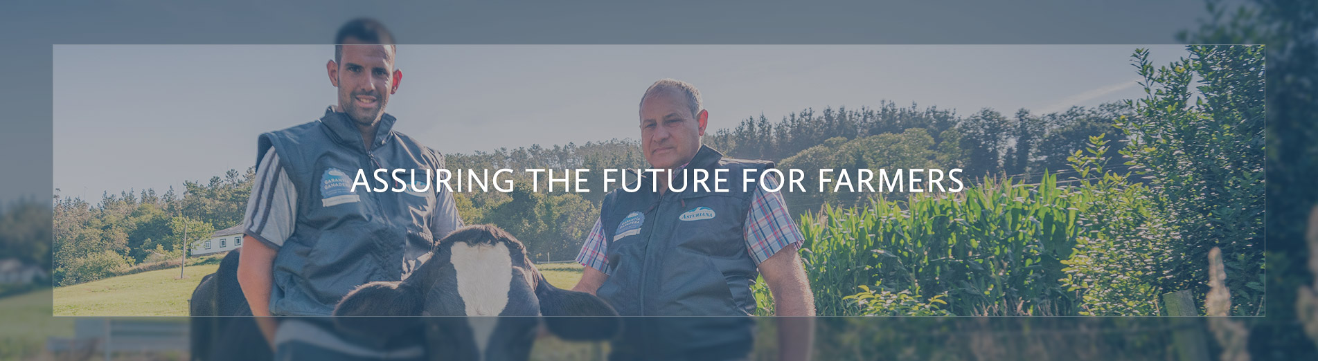 Assuring the future for farmers
